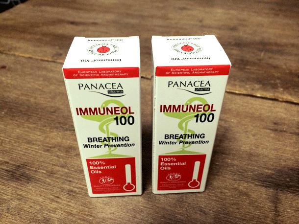 風邪予防や風邪の引き始めに! パナセア・ファルマ イムネオール100