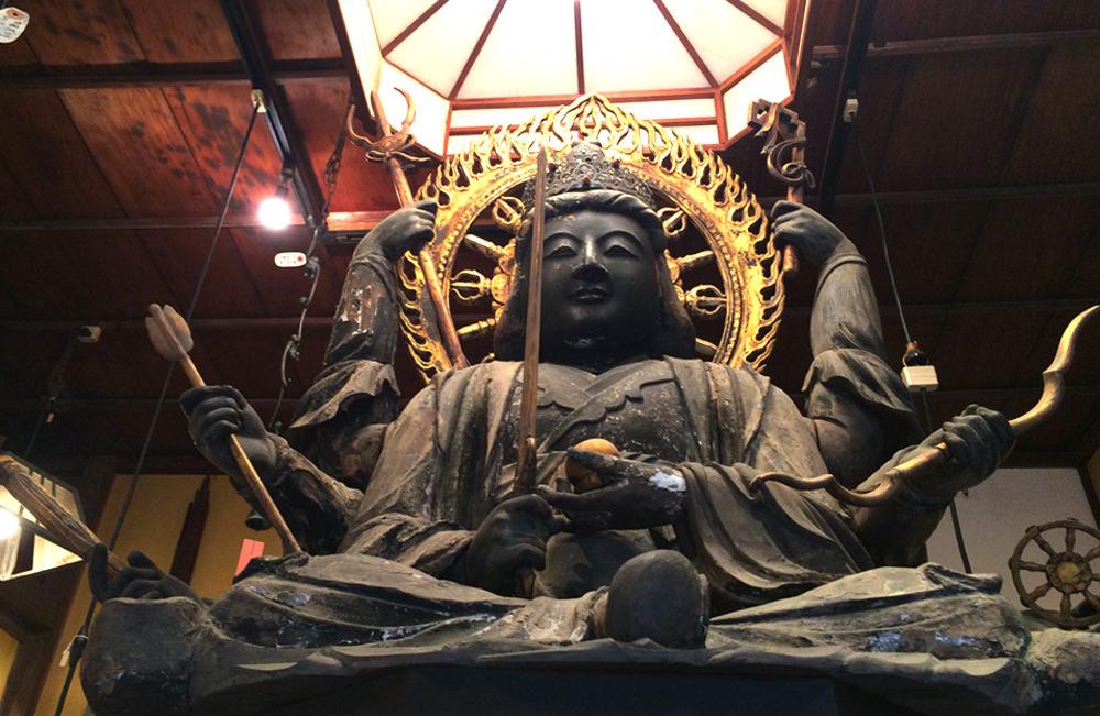 鎌倉の骨董品屋八万堂 弁天様