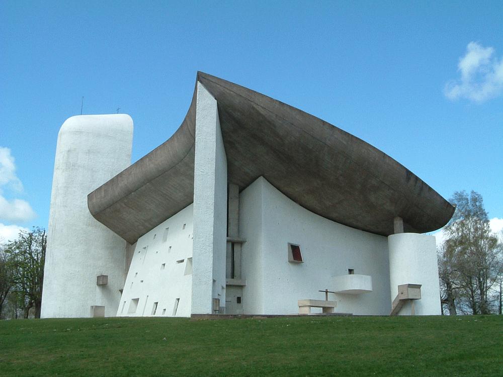 建築家ル・コルビュジエが設計したフランスのロンシャン礼拝堂に行ってきました