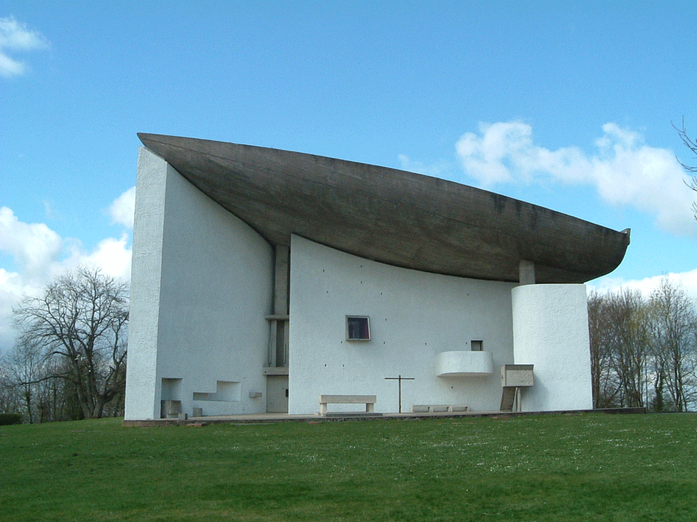 Chapelle de Ronchamp ロンシャンの礼拝堂