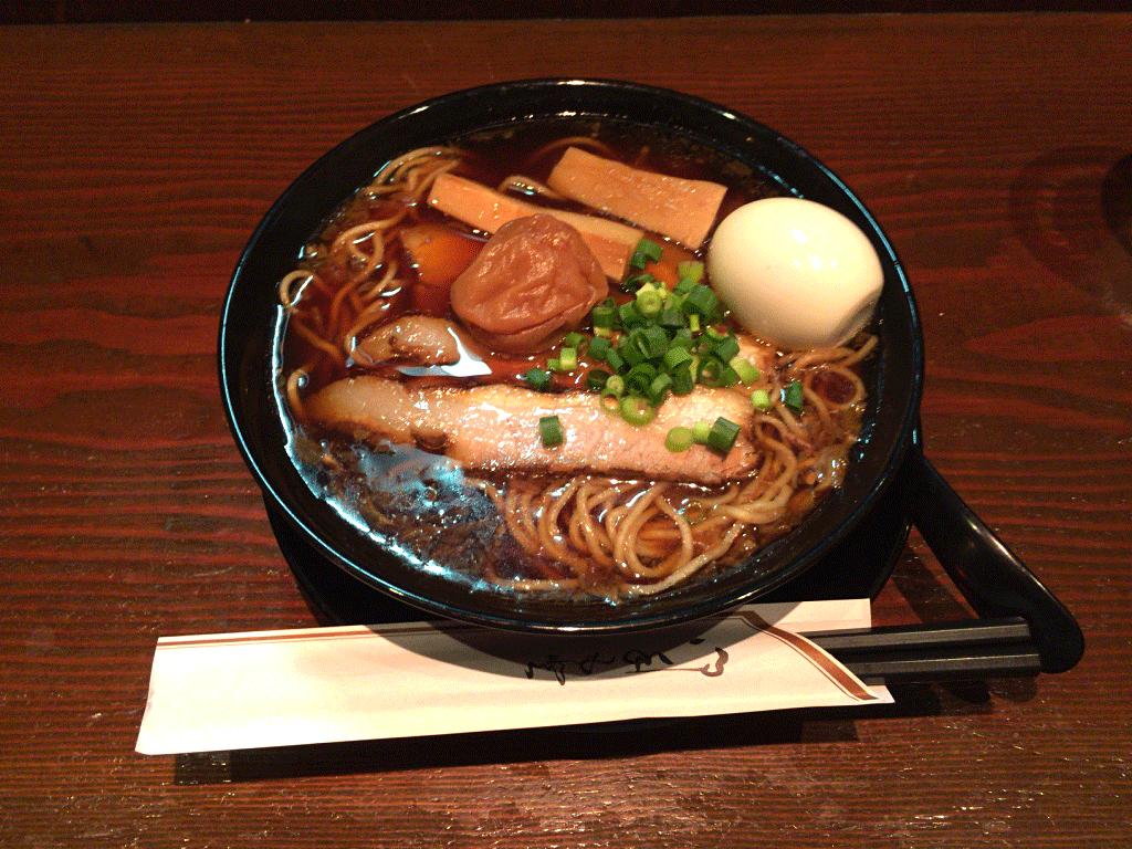 鶴亀のラーメン