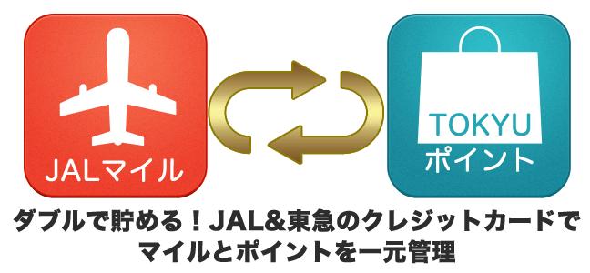 ダブルで貯める!JAL&東急のクレジットカードでマイルとポイントを一元管理