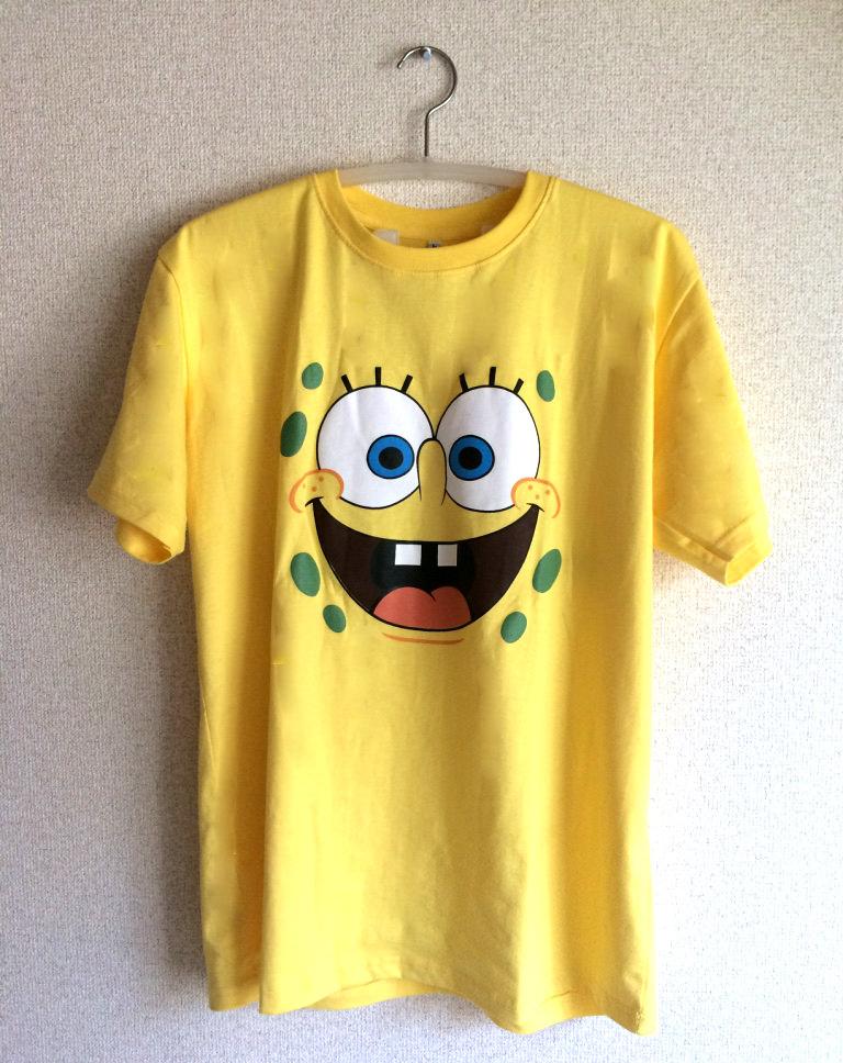 スポンジボブTシャツ